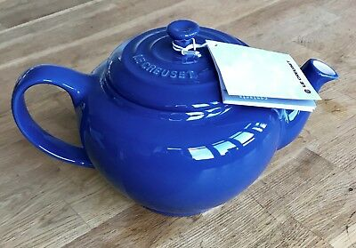 Le Creuset teapot stoneware Navy blue 1L - Brand new with tags