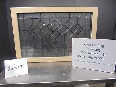 Leaded / Beveled Glass Window / Stain Glass / Thermal Pane >> New $250 Nice<<