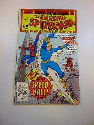 Amazing Spider-Man annual #22 1st appearance of Speedball