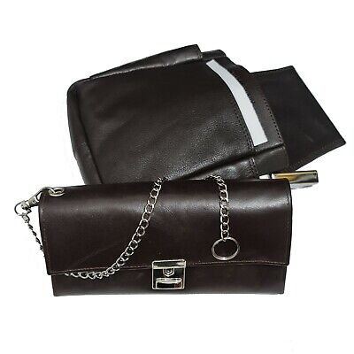 Real Leather Server Set 3tlg Wallet Waiter Case Holster Wallet Belt