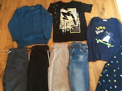 Boys Age 6-7 Jeans & Joggers Tops Jumpers Pyjamas Christmas Clothing Bundle
