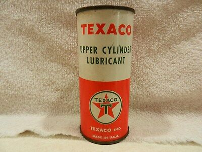 Texaco Upper Cylinder Lubricant Can - Full - 4 ounces
