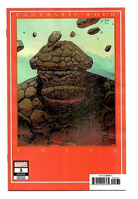 Fantastic Four #3 (2018) Moebius Variant Cover Marvel Comics Bagged & Boarded Nm
