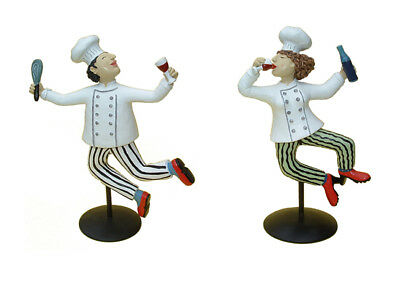 Chef Man and Chef Woman by Well Know Artist Judie Bomberger
