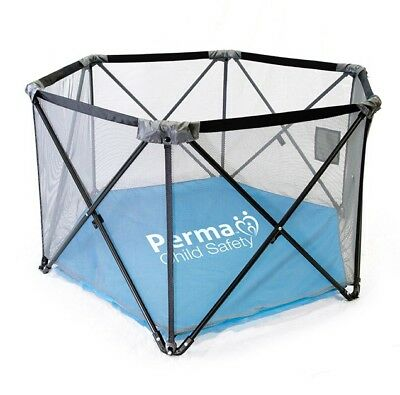Pop Up Portable Folding Sturdy Fabric Baby and Toddler Playpen (BRAND NEW)