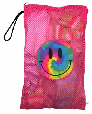 Gilbin Matching Mesh Laundry Or Sock Bag with Drawstring For Sleep Away Camp Dye