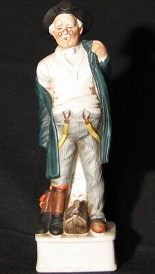 1969 Old Country Doctor Lionstone Whiskey Decanter Kentucky Porcelain Empty
