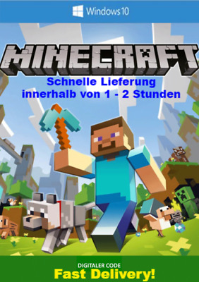 Minecraft PC KEY Minecraft Windows 10 Edition PC-Key Download-schnelle Lieferung