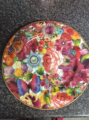 Stunning Melli Mello Plate 30cm Brand New Unboxed Free P&P