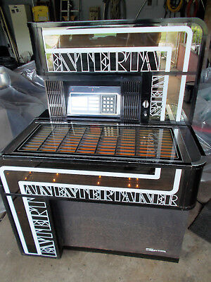 1975-1976 JUKEBOX Seeburg STD2 Intertainer 160 Selections 45RPM Records Plays