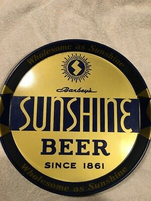 Sunshine Beer Tray Check It Out. Nice!
