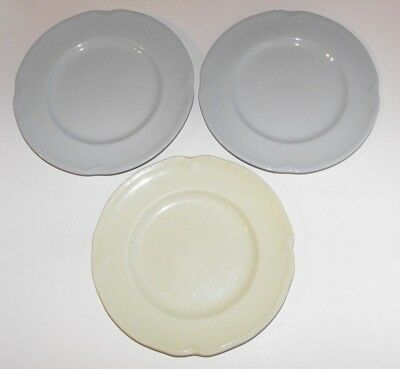 Johnson of Australia Side Plates Blue x 2 + 1 Green * Nanna's Retro Kitchen