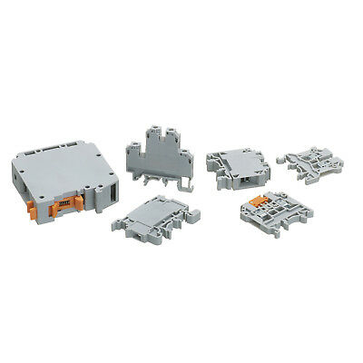 Europa Components CTS DIN Rail Screw Terminal Connector Blocks 2.5 - 95mm