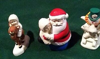 Department 56 Snowbabies Christmas Lot of 3
