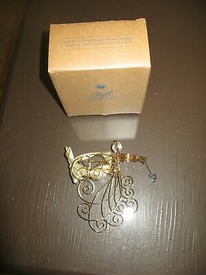 """Avon Gift Collection March Radiant Angel Ornament - Approx 3"""" x 3"""" - New In Box"""