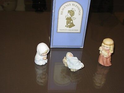 Avon 1986 - Heavenly Blessings Nativity Collection - The Holy Family - NEW
