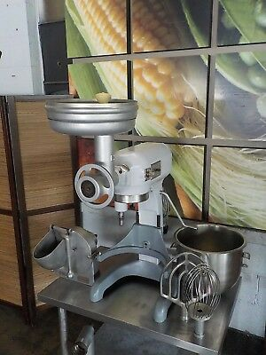 Hobart A-200T 20 Qt. Mixer  - Grinder, Pelican Head, Whip, Paddle, Bowl Included