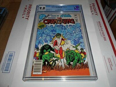 Tales Of The New Teen Titans #3 Cgc 9.8 (Combined Shipping Available)
