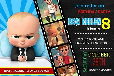 Baby Birthday Party Invitation Template Card Photo Download