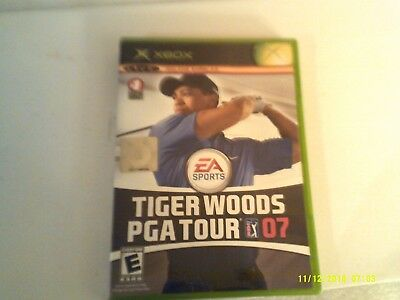 Tiger Woods PGA Tour 07 (Microsoft Xbox 360, 2006) Complete Cib Very Good