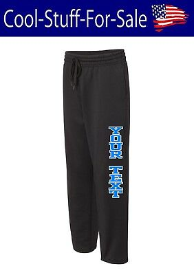 Unisex Performance Sweatpants with Pockets Custom Personalized Text