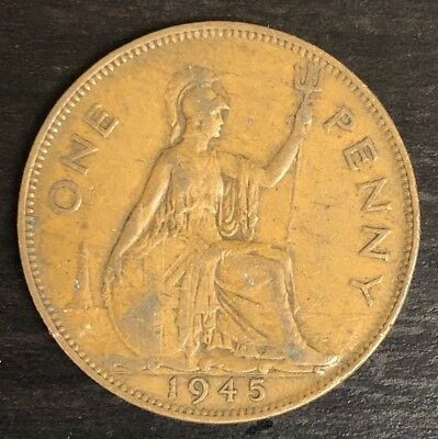 Great Britain 1 Penny 1945 KM# 845 (#C172)