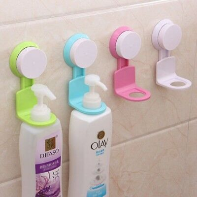Shampoo Bottle Holder Suction Wall Mounted Shower Bathroom Supplies Dispenser