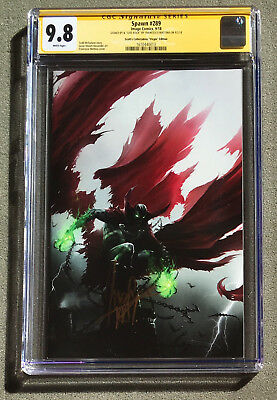 SS Francesco Mattina CGC 9.8 Spawn # 289 Image Virgin Variant FanExpo Green Glow