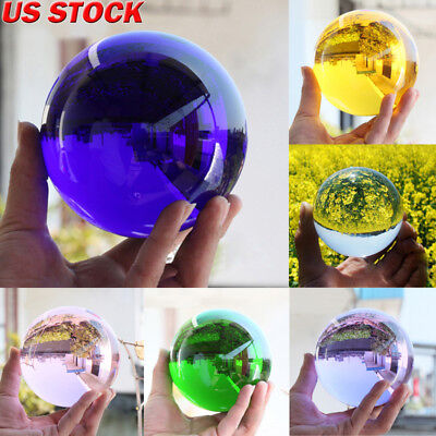 Lot Rare Natural Quartz Magic Gemstone Sphere Crystal Reiki Healing Ball Stone
