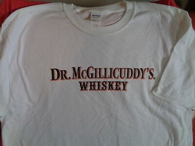 DR MCGILLICUDDYS WHISKEY T SHIRT - BRAND NEW! COOL! X-Large XL doctor