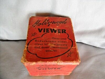 Craftmen's Guild Hollywood Viewer for Kodachrome Slides and 35mm Strip Film