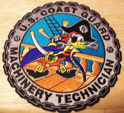 United States Coast Guard (USCG) patch Machinery Technician 5 in dia