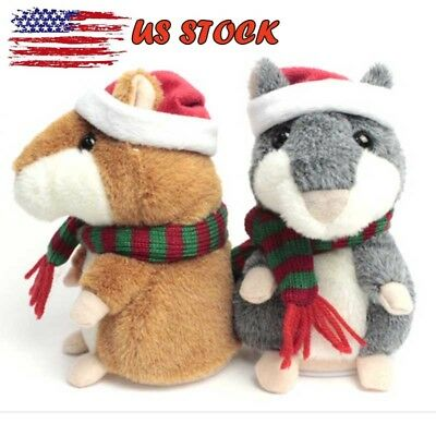 15CM Cheeky Hamster Christmas Baby Kid Gift High Quality+ Free Shipping US STOCK