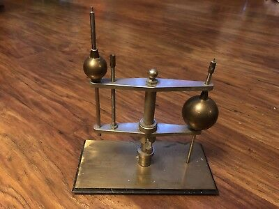 VTG Humboldt MFG Co Unknown Scientific Tool Brass Metal Bunsen Burner Quackery??