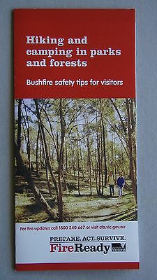 Hiking And Camping In Parks And Forests Fire Ready Victoria Brochure