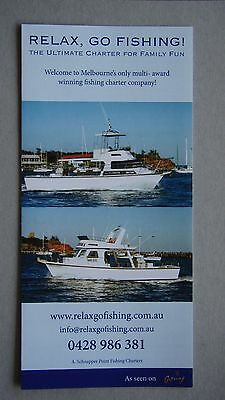 Relax Go Fishing A. Schnapper Point Fishing Charters Brochure