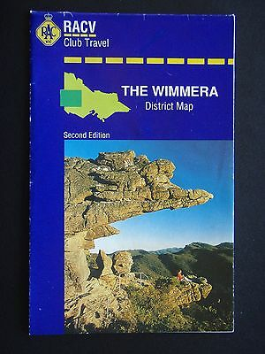 Racv Club Travel The Wimmera District Map Second Edition Map