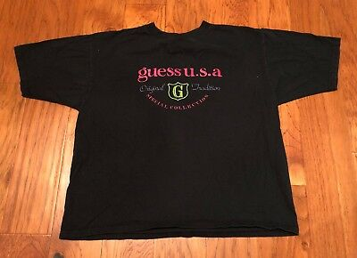 Vtg Mens Guess T Shirt