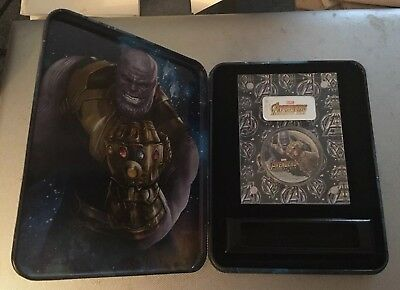 THANOS Avengers Infinity Wars Marvel 2 Oz Silver Coin $2 Fiji 2018 - IN-STOCK!!