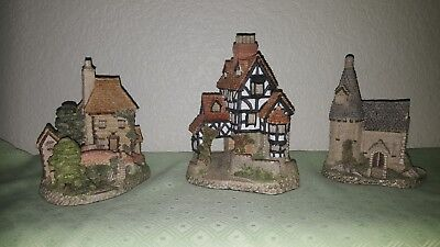 David Winter Cottage The Chapel 1985 Squires Hall 1985 Tollkeeper's Cottage 1984