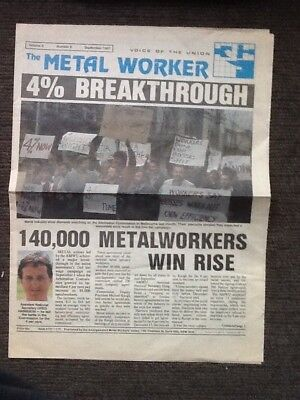 The Metal Worker 1987 issue