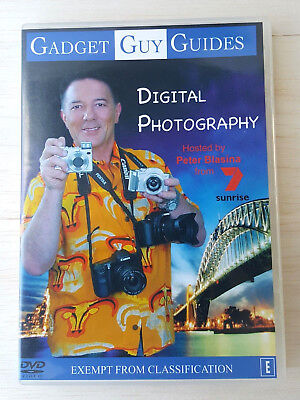Digital Photography Gadget Guy Video Guide Learn DVD Tips & Training