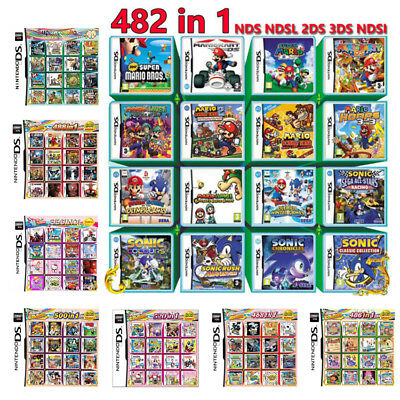 208 356 468 482 486 488 500 520 Game Games For Nintendo DS NDS NDSL NDSi 2DS 3DS