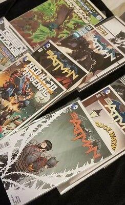 Batman New 52 Comics Huge 12 Comic Book Lot Collection