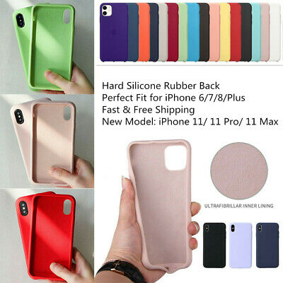 originalee silicone Sottile Custodia Cover per for Apple iPhone 8 7 6s plus New