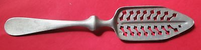 Antique Absinthe Spoon from French bar, Les Fleches #3 with Rare Error in Making