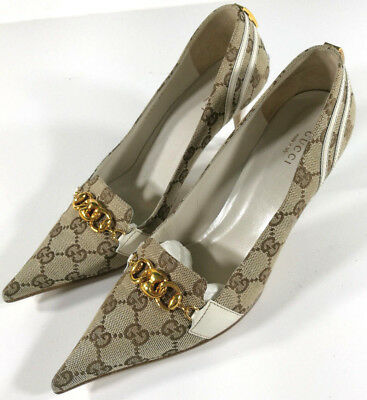Gucci Scarpe Donna Elegant Shoes Schuh Zapatos Vintage Made In Italy