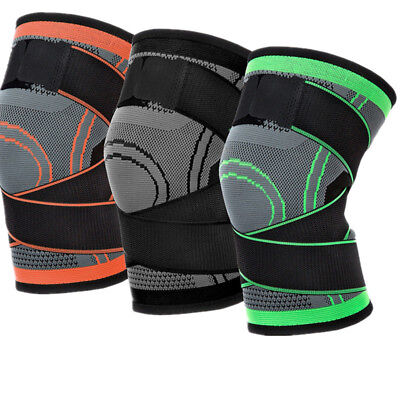 3D Weaving Knee Brace Breathable Support Running Jogging Sports Joint Pain S-XL