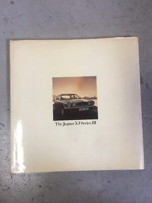 Livre Jaguar XJ Series III Officiel