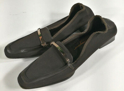 Salvatore Ferragamo Mocassino Scarpe Shoes Schuh Zapatos Vintage Made In Italy